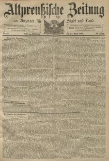 Altpreussische Zeitung, Nr. 95 Mittwoch 24 April 1889, 41. Jahrgang