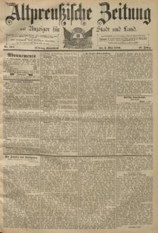 Altpreussische Zeitung, Nr. 104 Sonnabend 4 Mai 1889, 41. Jahrgang