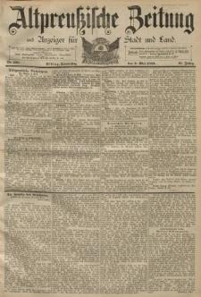 Altpreussische Zeitung, Nr. 108 Donnerstag 9 Mai 1889, 41. Jahrgang