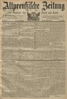 Altpreussische Zeitung, Nr. 109 Freitag 10 Mai 1889, 41. Jahrgang