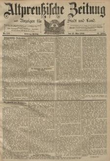 Altpreussische Zeitung, Nr. 113 Mittwoch 15 Mai 1889, 41. Jahrgang