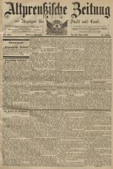 Altpreussische Zeitung, Nr. 124 Mittwoch 29 Mai 1889, 41. Jahrgang
