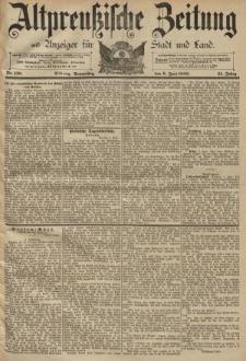 Altpreussische Zeitung, Nr. 130 Donnerstag 6 Juni 1889, 41. Jahrgang