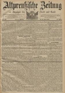Altpreussische Zeitung, Nr. 138 Sonntag 16 Juni 1889, 41. Jahrgang