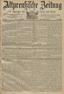 Altpreussische Zeitung, Nr. 139 Dienstag 18 Juni 1889, 41. Jahrgang