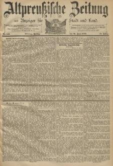 Altpreussische Zeitung, Nr. 141 Donnerstag 20 Juni 1889, 41. Jahrgang