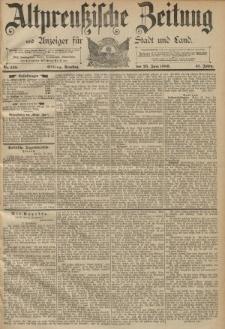 Altpreussische Zeitung, Nr. 145 Dienstag 25 Juni 1889, 41. Jahrgang