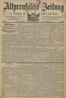 Altpreussische Zeitung, Nr. 151 Dienstag 2 Juli 1889, 41. Jahrgang