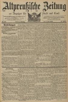Altpreussische Zeitung, Nr. 157 Dienstag 9 Juli 1889, 41. Jahrgang