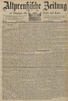 Altpreussische Zeitung, Nr. 163 Dienstag 16 Juli 1889, 41. Jahrgang