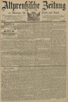 Altpreussische Zeitung, Nr. 171 Donnerstag 25 Juli 1889, 41. Jahrgang