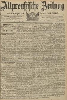 Altpreussische Zeitung, Nr. 178 Freitag 2 August 1889, 41. Jahrgang