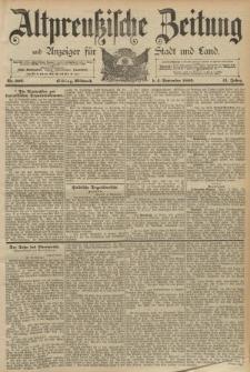 Altpreussische Zeitung, Nr. 206 Mittwoch 4 September 1889, 41. Jahrgang