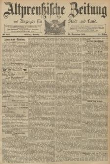 Altpreussische Zeitung, Nr. 222 Sonntag 22 September 1889, 41. Jahrgang