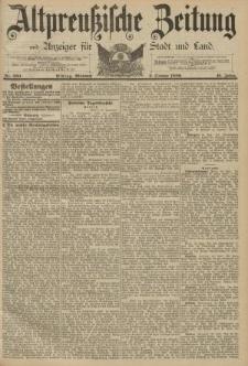 Altpreussische Zeitung, Nr. 230 Mittwoch 2 Oktober 1889, 41. Jahrgang