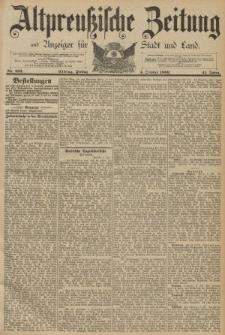 Altpreussische Zeitung, Nr. 231 Donnerstag 03 Oktober 1889, 41. Jahrgang
