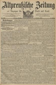 Altpreussische Zeitung, Nr. 235 Dienstag 8 Oktober 1889, 41. Jahrgang