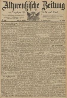 Altpreussische Zeitung, Nr. 238 Freitag 11 Oktober 1889, 41. Jahrgang