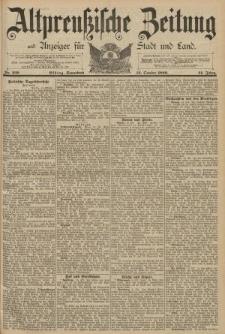 Altpreussische Zeitung, Nr. 239 Sonnabend 12 Oktober 1889, 41. Jahrgang