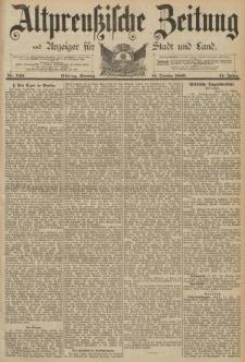 Altpreussische Zeitung, Nr. 240 Sonntag 13 Oktober 1889, 41. Jahrgang
