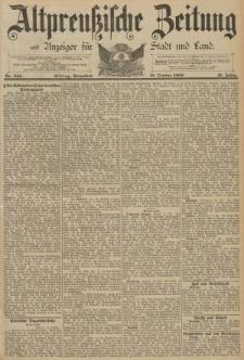 Altpreussische Zeitung, Nr. 245 Sonnabend 19 Oktober 1889, 41. Jahrgang