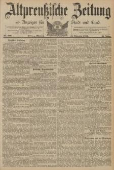Altpreussische Zeitung, Nr. 266 Mittwoch 13 November 1889, 41. Jahrgang