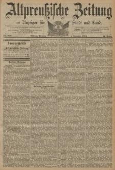 Altpreussische Zeitung, Nr. 282 Sonntag 1 Dezember 1889, 41. Jahrgang