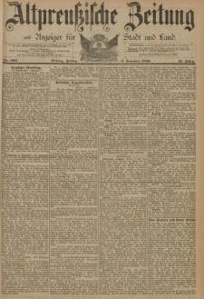 Altpreussische Zeitung, Nr. 286 Freitag 6 Dezember 1889, 41. Jahrgang