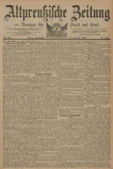 Altpreussische Zeitung, Nr. 293 Sonnabend 14 Dezember 1889, 41. Jahrgang