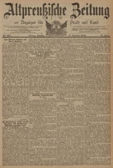 Altpreussische Zeitung, Nr. 295 Dienstag 17 Dezember 1889, 41. Jahrgang