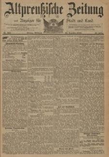 Altpreussische Zeitung, Nr. 302 Mittwoch 25 Dezember 1889, 41. Jahrgang