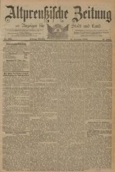 Altpreussische Zeitung, Nr. 305 Dienstag 31 Dezember 1889, 41. Jahrgang