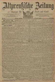 Altpreussische Zeitung, Nr. 2 Freitag 3 Januar 1890, 42. Jahrgang