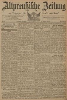 Altpreussische Zeitung, Nr. 6 Mittwoch 8 Januar 1890, 42. Jahrgang