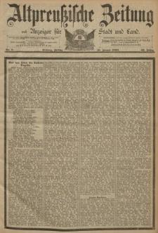 Altpreussische Zeitung, Nr. 8 Freitag 10 Januar 1890, 42. Jahrgang