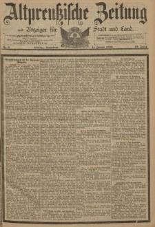Altpreussische Zeitung, Nr. 9 Sonnabend 11 Januar 1890, 42. Jahrgang