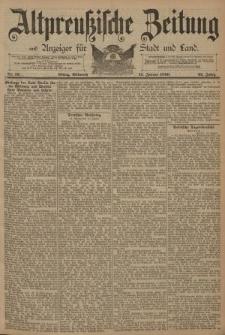 Altpreussische Zeitung, Nr. 12 Mittwoch 15 Januar 1890, 42. Jahrgang