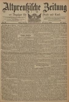 Altpreussische Zeitung, Nr. 16 Sonntag 19 Januar 1890, 42. Jahrgang