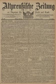 Altpreussische Zeitung, Nr. 35 Dienstag 11 Februar 1890, 42. Jahrgang