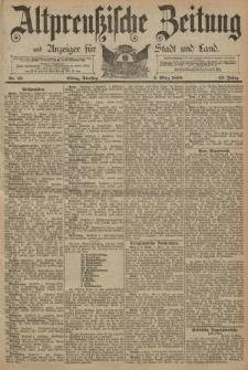 Altpreussische Zeitung, Nr. 53 Dienstag 4 März 1890, 42. Jahrgang