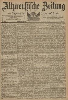 Altpreussische Zeitung, Nr. 60 Mittwoch 12 März 1890, 42. Jahrgang