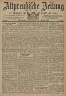Altpreussische Zeitung, Nr. 64 Sonntag 16 März 1890, 42. Jahrgang