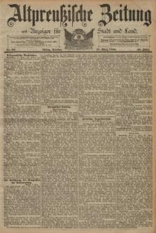 Altpreussische Zeitung, Nr. 65 Dienstag 18 März 1890, 42. Jahrgang