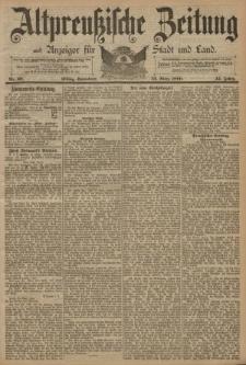 Altpreussische Zeitung, Nr. 69 Sonnabend 22 März 1890, 42. Jahrgang