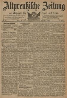 Altpreussische Zeitung, Nr. 75 Sonnabend 29 März 1890, 42. Jahrgang