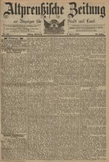 Altpreussische Zeitung, Nr. 78 Mittwoch 2 April 1890, 42. Jahrgang