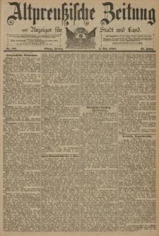 Altpreussische Zeitung, Nr. 101 Freitag 2 Mai 1890, 42. Jahrgang
