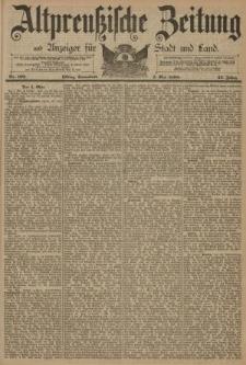 Altpreussische Zeitung, Nr. 102 Sonnabend 3 Mai 1890, 42. Jahrgang