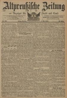 Altpreussische Zeitung, Nr. 103 Sonntag 4 Mai 1890, 42. Jahrgang