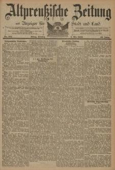 Altpreussische Zeitung, Nr. 104 Dienstag 6 Mai 1890, 42. Jahrgang